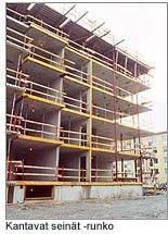 mihin betonia käytetään