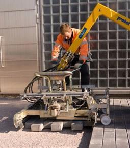 betonikivien latominen