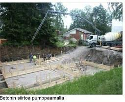 betonin kuljetus ja siirto 2
