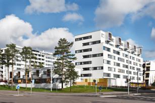 Julkisivu liittää rakennuksen ympäristöön
