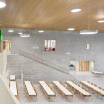 Saunalahden koulu - Kuva Andreas Meichsner