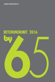 by 65 Betoninormit 2016